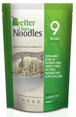 Better Than Organic Gluten Free Noodles shapes 385g (Pack of 10)