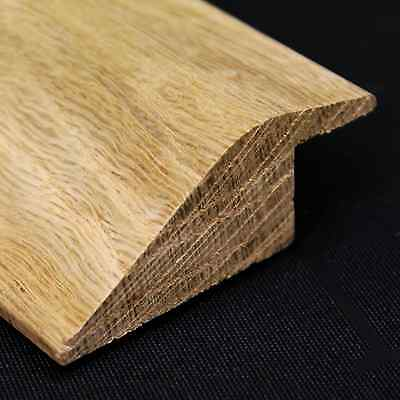 Solid Oak Ramp Threshold - 1M Length / Various Rebates