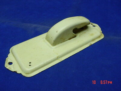 Antique Vintage Metal Wall Mount Note Holder Paper Office or home accessory