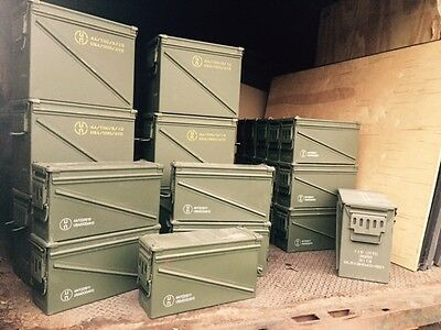 M2A1 Empty Ammo Cans