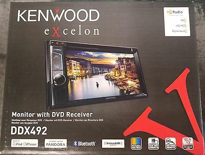 """Kenwood DDX492 6.2"""" DVD built in Bluetooth--New In Box--Free Shipping!!!"""