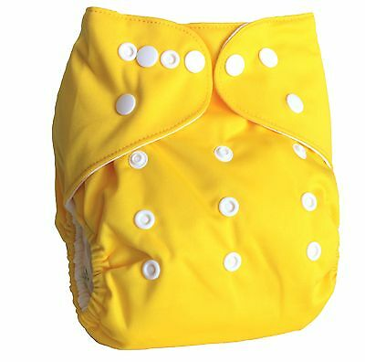 Ninja Baby Organic Bamboo Cloth Diaper with Bamboo Insert (AI2) - Sunshine