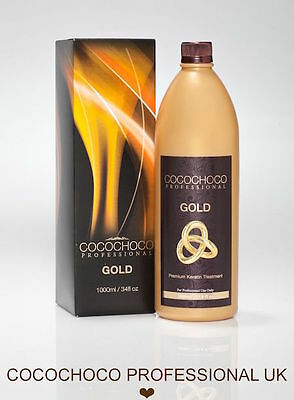 ❤︎ COCOCHOCO GOLD Brazilian Blow Dry Hair Keratin Straightening Treatment 1000ml