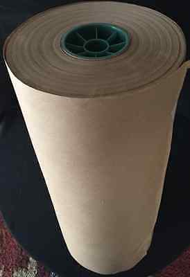 "15' x 20"" Brown Kraft Paper Roll 