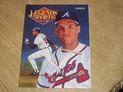 1992 July/August Legends Sports Memorabilia Price Guide-Christopher Paluso
