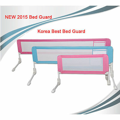New Extra Long Bed Rail Kids Toddler Children Safety Sturdy Guard - Color Ivory