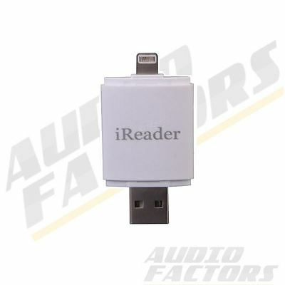 USB i-Flash Drive HD Micro SD TF Memory Card Reader Adapter For iPhone 6 6s iPad