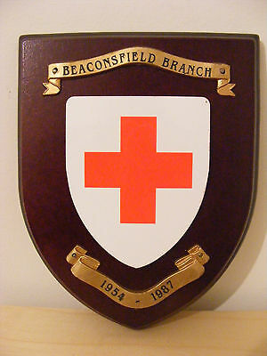 Wall Plaque Beaconsfield Red Cross 1954-1987