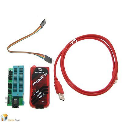 Development PICkit3 PIC KIT3 In-Circuit debugger/programmer Chip dsPIC PIC32