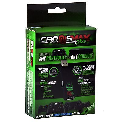 2019 CronusMax Plus Controller Adapter + Add On Pack for PS3 PS4 Xbox One X 360