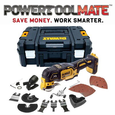DeWalt DCS355N 18V XR Brushless Oscillating Multi-Tool - Naked + 35 Accessories