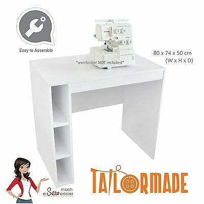 Overlocker Table Sewing Machine Cabinet Desk Furniture for Janome Singer Brother