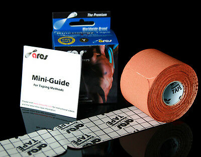 Ares Tape Precut - Orange - Kinesiology Tape PRO Elastic Sports - Support KT