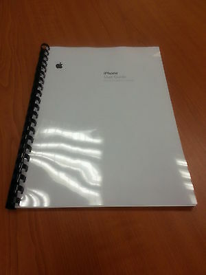 Apple Iphone 3G  Ios 3.1 Fully  Printed User Manual Guide Instructions A5