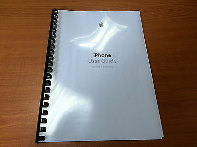 Apple Iphone 6 Ios 8 Printed Instruction Manual User Guide 180 Pages A5