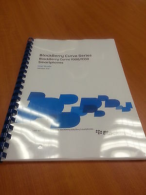 Blackberry Curve 9300 Full Printed User Guide Instruction Manual 314 Pages A5