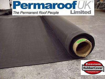 FIRESTONE standard 1.14mm RUBBERCOVER -  EPDM - RUBBER ROOFING - VARIOUS SIZES