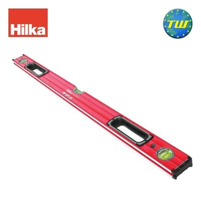 Hilka 36in 90cm Double Milled Box Spirit Level with 3x Vials & V Groove 900mm