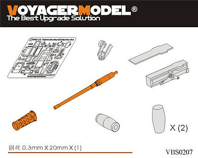 VOYAGER VBS0207 1/35 WWII US Vehicle Mounted M2 Browning Machine Gun (For all)