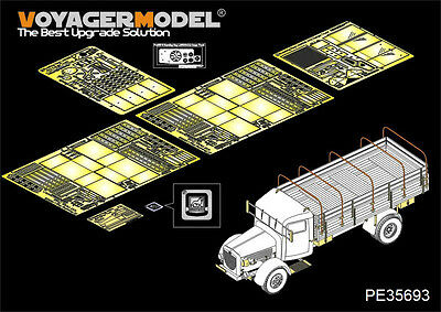 VOYAGER PE35693 1/35 WWII German Bussing Nag L4500A (For Afv Club 35270)