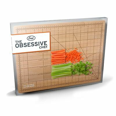 Obsessive Chef Cutting Chopping Board Perfectionist Kitchen Accessory