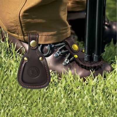 Tourbon Toe Shoes Protector Pad Gun Rest Practical Barrel Leather for Hunting