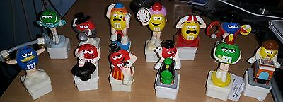 Lot of 12 M&M figures