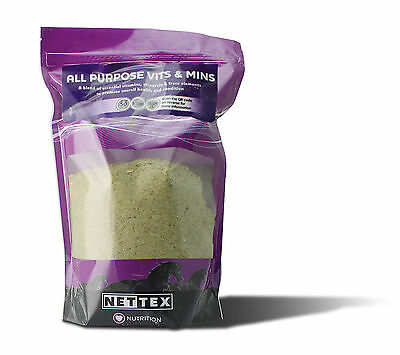 Nettex All Purpose Vits And Mins 1.5Kg Vitamins And Minerals