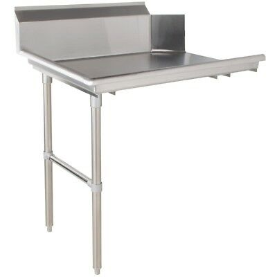 "Commercial Stainless Steel Dish Table Clean Side 24"" Left"