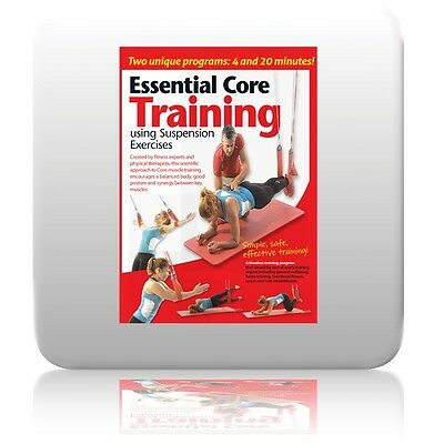 Suspension Excercises DVD Essential Core Training  And Redcord, TRX , Jungle Gym