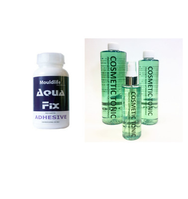 Special Effects Makeup - 'Aqua-fix' Skin Adhesive Glue 'Cosmetic Tonic' Remover