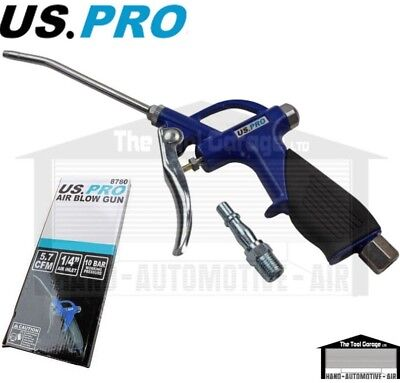 BERGEN Tools Air Dust Gun 100mm Nozzle Grip Handles NEW 8741