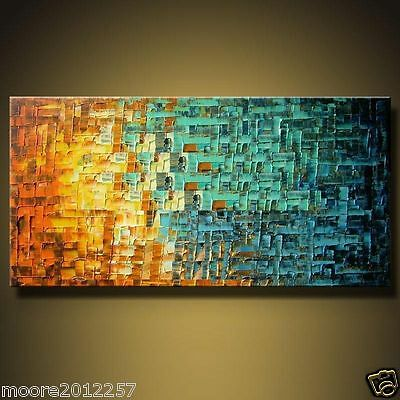 "48"" Modern Abstract hand-painted Art Oil Painting Wall Decor canvas(no framed)"