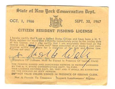 Cities towns historical memorabilia collectibles for Fishing license ny