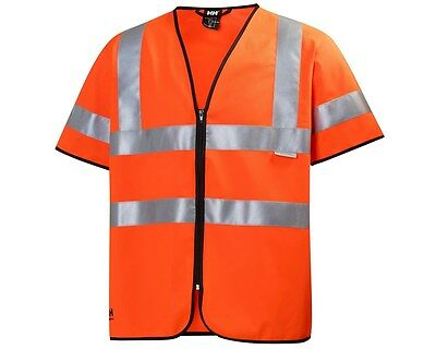 Mens Helly Hansen 79218 High Visibility Vest Size Large Bnwt