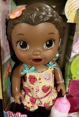 Baby Alive Super Snacks Snackin Lily Doll W/ Free Baby Alive Sippy Cup And Paci