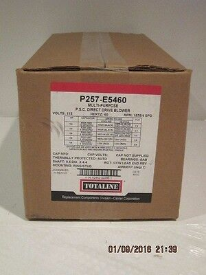 Carrier-Totaline P257-E5460  P.s.c.direct Drive Blower Free Ship New Sealed Box