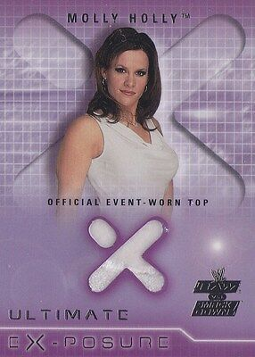 MOLLY HOLLY 2002 Fleer WWE ULTIMATE EX-POSURE EVENT WORN BLOUSE * Rare! *
