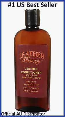 Leather Honey Leather Conditioner 240ml UNIVERSAL Care Shoes Car Furniture 8oz