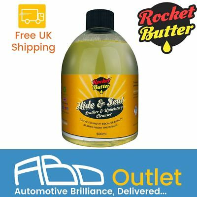 Rocket Butter Hide & Seat Car Interior Leather & Upholstery Cleaner 500ml