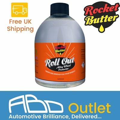 Rocket Butter Roll Out Alloy Wheel Protector Spray 250ml Dirt &Grease Resistant
