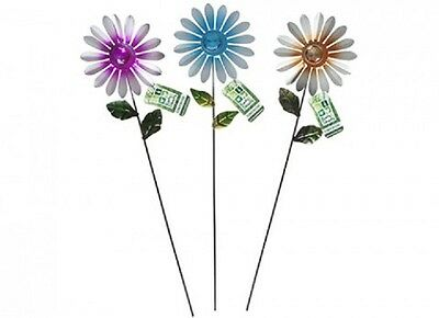 Wholesale-Resellers-24 X METAL/ GLASS FLOWER STAKES