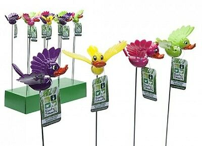 Wholesale-Resellers-24 X HAPPY FLYING DUCKS W/MOVING  WINGS ON STAKE