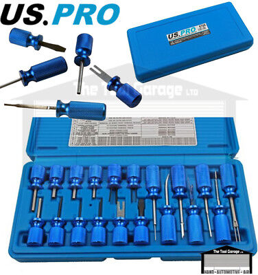 BERGEN Tools 19pc Universal Terminal Tool Release Plug connectors Set NEW 6645