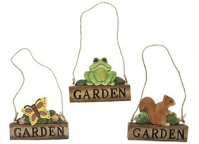 Wholesale-Resellers-12 X HANGING GARDEN SIGNS  3 ASST