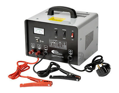 RING PRO BATTERY CHARGERS 30 Amp 12V/24V Bench Charger Starter RCBT30