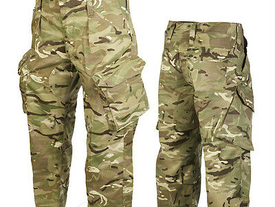 British Mtp Combat Trousers - Used - Pcs - All Sizes - British Army Issue !!!