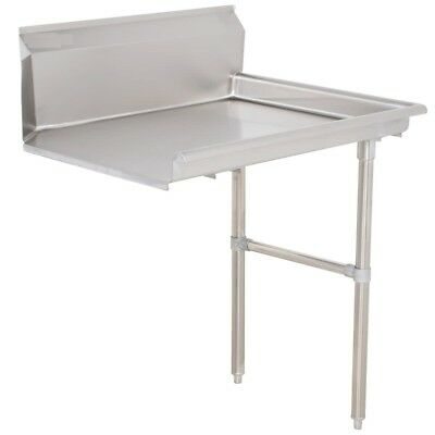 """Commercial Stainless Steel Dish Table Clean Side 24"""" Right"""