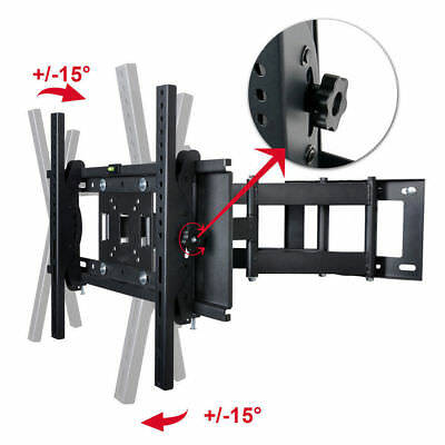 "10""-30"" Tilt Swivel TV Wall Mount Bracket Plasma LED LCD Monitor VESA 75 100mm"