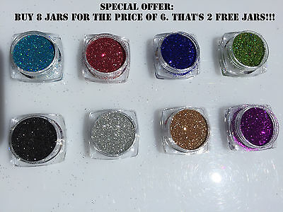 Face & Body Fine Glitter Strong Pigments Makeup Photoshoots Discount Bulk Buy